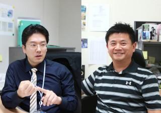 김민수 교수(왼쪽)와 구재형 교수 - DGIST 제공